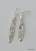 Silver 'Wing' Earrings